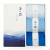 Большая кровать (DAPU) полотенце домашний текстиль Классное полотенце 32 Xinjiang Avati хлопковое полотно 3 маленьких полотенца мягкие и удобные светло-синий / синий / темно-синий 73g / Артикул 30 * 50 см