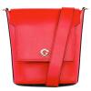 Guy Laroche Guy Laroche женщин одиночный мешок плеча кожаные сумки моды диких случайные грейферного ковша сумка ярко-красный GS13971011-34