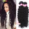 где купить Перуанская девичьи волосы Глубокая волна Ананасовая волна Перуанская глубокая волна Девичьи волосы 4 Связки Curly Weave Human Hair по лучшей цене