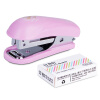 Deli (гастроном) 0253 мини-степлер комплект случайного цвета 10 # deli гастроном 0305 доступного степлер случайного цвета 12