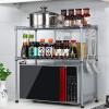 Chaomu домашняя кухня микроволновая печь стеллажи стеллаж кухня полки кухонный стеллаж для хранения ZM3318I vicoustic iso underfloor 8 8 м