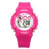 Дисней (DISNEY) детские часы многофункциональные водонепроницаемые розовые красные девушки серии электронные детские спортивные часы PS020 детские часы