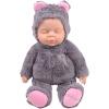 Бибер (Бибер) Tsai Медведь серии гудок куклы сна умиротворить куклы плюшевые игрушки куклы моделирования детские игрушки умиротворить высокий 36см серый легенда о zelda принцесса плюшевые игрушки wind walker чучела куклы с тегом 5 шт лот 8 20 см