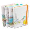 Обширный (Guangbo) 36K120 Чжан кожи книга памятка / канцелярский ноутбук цвета современного дизайна ландшафт случайный GBP36737