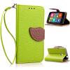 Зеленый дизайн Кожа PU откидная крышка бумажника карты держатель чехол для Nokia Lumia 530 luxcase luxcase для nokia lumia 530 530 dual