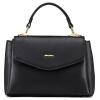 Г-жа AngryBirds новая кожаная сумка плеча сумка сумка женская сумка сумка черная