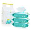 Original care детские влажные салфетки 80 * 3 шт. goldfish goldfish бренд материнской и младенческой детские салфетки руки вытирает рот имеющийся 80 3 шт