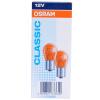 Osram (OSRAM) сигнал поворота нить оранжевого PY21W 10 палочек система освещения osram 12v 3700 k 9006nbp 51w hb4