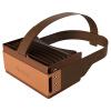 Focalmax-Accordion VR-очки 3D-очки виртуальной реальности VR шлем (коричневый)