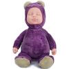 Бибер (Бибер) Мэн странный сон Медведь кукла умиротворить куклы плюшевые игрушки куклы моделирования детские игрушки умиротворить фиолетовый безучастно джд джой joy обезьяны плюшевые игрушки куклы no