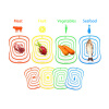 прозрачный - пластиковые классифицировать стая 8 сквозных советов маты, 460628 стая