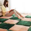 Майяди для гостиной спальни ковровой плитки 40 * 40см воды розовой четыре для гостиной