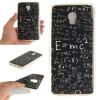 Математическая формула Pattern Мягкая обложка Тонкий ТПУ резиновый силиконовый гель чехол для Lenovo VIBE P1 смартфон lenovo vibe c2 power 16gb k10a40 black