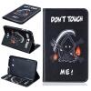 Классическая флип-обложка с тиснением Grim Reaper с функцией подставки и слотом для кредитных карт для Samsung Galaxy Tab E 8.0 T377V tizer trejler zvezdny h vojn e pizoda 7 itogi