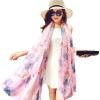 Виагра ребенок (IKEWA) B083zi корейский дикий шелк шарф женский летний солнцезащитный крем большой накидка пляж полотенце пляж шарф шаль шарфы Весна шарфы женский фиолетовый Разнообразие шарфы foxtrot шарф