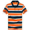 Bejirog мужская футболка модная повседневная одежда с полосами