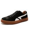 OKKO мужская обувь повседневная обувь британская мужская обувь ретро кожаная обувь мужская обувь обувь 8761 черный 41 ярдов обувь shoiberg