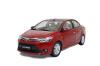 масштаб 1:18 Toyota Vios 2014 Diecast модель автомобиля красный глушитель stainless steel toyota vios