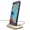 Времена мышления (Baseus) Apple, телефон зарядки стоять ленивым подходит основание iPhone6 / 6s / 7 / Plus золотое яблоко канал линии данных