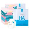 Красивая увлажняющая маска для лица Dafen 10 (Уличная рисовая маска 5 + Гиалуроновая кислота Увлажняющая маска 5) Увлажняющий лосьон маска для лица яйцо мед