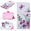Розовый бабочка Дизайн PU кожа флип крышку кошелек карты держатель чехол для HUAWEI Y5 II смартфоны huawei y5 2017 grey
