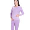 Aibo отцовства одежды беременных женщин грудного вскармливания осенние брюки костюм беременных женщин пижамы домашнее обслуживание на открытом кормлении молоко M306 фиолетовый XL брюки для беременных topshop 4 22