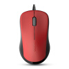 Peno (Rapoo) 1680 проводная мышь офисная мышь USB мышь ноутбук мышь красный rapoo