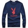 PLAYBOY Playboy мужской моды случайные свитер шею длинными рукавами футболки 16045PL1910 Борланд 3XL playboy playboy майках мужской моды случайные короткими рукавами вокруг шеи футболку 17001pl1714 серый 2xl