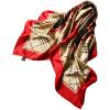 Lan Shiyu LANSHIYU W0791 шелк большой квадратный шелковый шелк Европа и США печатный шарф 4 цвета lan shiyu lanshiyu шелковый шарф леди корейской версии шелковый чистый цвет складки осень и зима полотенце шарф темно серый