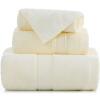 [Супермаркет] Джингдонг Санли толстый хлопок сатин полотенце / полотенце / банное полотенце бежевый трехсекционный подарочной коробке цена и фото