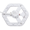 NVC (The NVC) светодиодные лампы световой энергии преобразования потолок пластины SMD светодиодные лампы панель В качестве альтернативы T5 / T6 кольцевой канал белый (16W 6500K) люминесцентные лампы