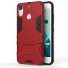 Красный Slim Robot Armor Kickstand Ударопрочный жесткий корпус из прочной резины для HTC Desire 10 Pro синий slim robot armor kickstand ударопрочный жесткий корпус из прочной резины для htc desire 10