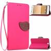 Розовый Дизайн Кожа PU откидная крышка бумажника карты держатель чехол для HTC One A9 htc смартфон one a9