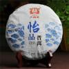Мэнхай Dayi Радостный Pu'er чай торт TAETEA китайский пуэр Пуэр 2014 357g Сырье c pe153 yunnan run pin 7262 семь сыну пуэр спелый чай здравоохранение чай puerh китайский чай pu er 357g зеленая пища