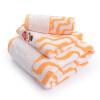Jingdong [супермаркет] Jie Я. (Грейс) полотенце текстильный хлопок трехсекционный бар полотенце банное полотенце мягкой и впитывающее полотенце * 2 * 1 красный