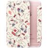 Плюс отличная серия Hello Kitty iPhone6 / 6с раскладушка оболочки / защитный рукав милый мультфильм флип кожа хлопок конфеты Katie White