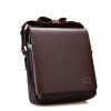 Известный бренд мужские кожаные сумки малый креста тела сумки для мужчин плеча сумки старинные портфель молния человек Сумки мужские сумки