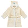 Kam бамбуковые волокна бамбука полотенца халаты халаты купание ребенка модели ванны мультипликационных впитывающие халат дети халат мягкий желтый платье длиной 80 см