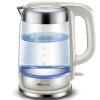 Медведь (медведь) электрический чайник 304 нержавеющая сталь стекло чайник с автоматически ЗДХ-A17G5 1.7L
