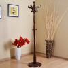 Три сильных пол спальни офисная вешалка плечики вешалка простой вертикальный коричневый SY-827