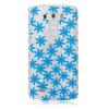 Синий хризантема шаблон Мягкий чехол тонкий ТПУ резиновый силиконовый гель чехол для LG G3 lg g3 s