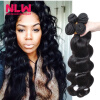 Bouncy Top Quality N.L.W. Products Brazilian Virgin Hair Body Wave 4 Bundles 8A Unprocessed Free Shipping Full and Thick free shipping 4 4 size 430c pernambuco cello bow high quality ebony frog with shield pattern white hair violin parts accessories
