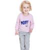 Barabara (BALABALA) Детская одежда девочки костюм детей ребенок девочка платье дети с длинными рукавами розовых двухсекционный женщина 28041170106 90 платье mini balabala 52262140621