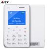AIEK A6 Quad Band 1.77 дюйма CardPhone Bluetooth 3.0 Шагомер FM аудиоплеер NO CARD TF EU elari cardphone