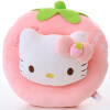 Hello Kitty Catty Cat Fruits Series Multi-Plush Toys Подушка Многофункциональная подушка для подушки подушки для подушки для автомобиля KT2012-1 Pink 20cm high quality hello kitty plush toys hug pillow fruit kt cat stuffed dolls for girls kids toys gift mini animal plush doll