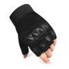 Мышь quetting тактические перчатки наружные военные перчатки антирежущие противоскользящие полупальцевые перчатки фитнес верховые перчатки черный L перчатки 1azaliya перчатки