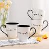 Люби меня, люби зеленый (Evergreen) любителей творческой чашки кофе кружка керамическая чашка завтрак молоко чашки кружка птичье молоко 1256955