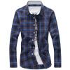 GEEDO  мужская рубашка деловая повседневная рубашка рубашка мужская gap 142643 349
