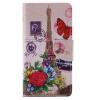 Бабочка Башня Дизайн Кожа PU откидной крышки Кошелек Карты Держатель чехол для HUAWEI P9 MINI