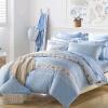 Мэн Jie текстильного производство пакета MINI КОЗЫ Постельных принадлежности семья из четырех людей хлопка напечатанных детских игровых площадки постельного белье возлюбленного синей 1,5 м кровать 200 * 230cm